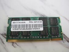 AXION 1GB DDR2 SDRAM PC2-5300S Laptop SO-DIMM