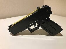 Lego Full Size Rubber Band Gun with bullet magazine Function Firing Pistol