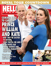 Hello Canada Magazine Exclus. William & Kate to Canada Aug.2016 #514 Celine Dion