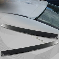 For 2006-2011 Honda Civic Sedan ABS Unpainted Black Rear Roof Visor Wing Spoiler