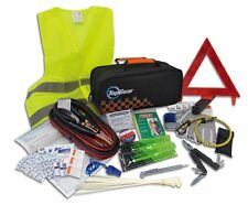 Roadside Emergency Kit Safety 66 Piece First Aid Travel Car Auto Multi Tool Bag