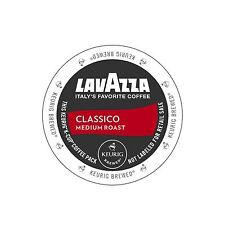Lavazza Classico Medium Roast Coffee Keurig K-Cups 96-Count