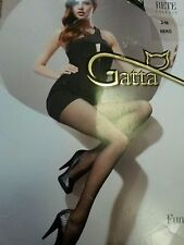 Gatta ladies tights,net pattern,black,fits 164-170cm height,new in original pack
