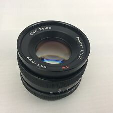 CARL ZEISS PLANAR T* f1.7 50mm PRIME LENS CONTAX/YASHICA FIT - Superb Lens