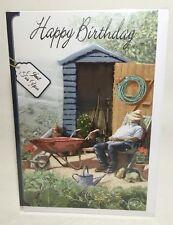 Tarjeta de felicitación. Cumpleaños feliz sólo para ti tarjeta de cumpleaños