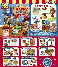 Re-Ment Toy Story HAPPY Toy Room (Toirumu) 8pcs Complete Set (1774)