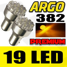 19 LED 382 AMBER FRONT INDICATOR TURN SIGNAL LIGHT BULBS LAMPS 1156 BA15S 12V