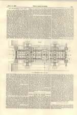 1896 Heinrichsburg flottant canal lift centrifuge série pompe moteurs gwynne