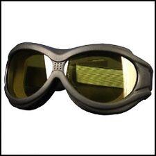 Lunettes masque Biker Moto custom trike jaunes sunglasses vision de nuit SGG1003