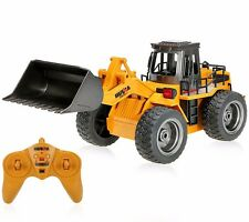 2.4G Radio Controlled RC Front Loader Bulldozer Car Truck Toy Tractor 6 Channels
