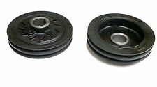 MITSUBISHI PAJERO SHOGUN 2.5 TD CRANK SHAFT PULLEY 1992-2000 NEW ( TWIN BELT)
