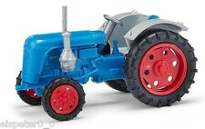 Busch Mehlhose 210010124 Tractor Famulus, Blue with red F H0 Car Model 1:87