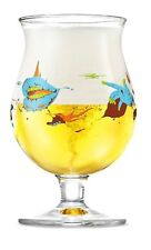 Duvel Limited Edition Belgian Beer Glass by Yan Sorgi (BRAND NEW)