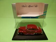 MINICHAMPS 43300 OPEL KAPITAN KAPITÄN 1951-1953 - DARK RED 1:43 - GOOD IN BOX