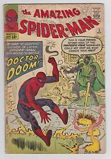Amazing Spider-Man #5 -- Early Marvel Silver Age Spidey vs. Doctor Doom!