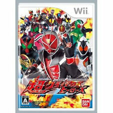 Kamen Rider Nintendo Wii Japan Climax Heroes Super Climax Heroes