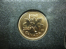 2007 UNC Magnetic Specimen Canadian Penny One Cent - 1 cent coin