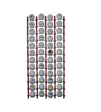 Golf Ball & Ball Marker Display Rack. Made in USA Shelf Case Modular