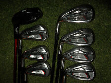 LEFT HANDED LADIES TITLEIST GOLF CLUBS AP1 714 IRON AND HYBRID SET WOMENS FLEX