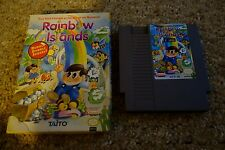 Rainbow Islands (Nintendo Entertainment System NES, 1991) with Box GOOD