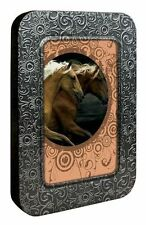 The Dance Horse 12 Blank Note Cards in Keepsake Tin Box by Tree Free Greetings