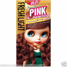 Fresh Light Milky Type Hair Color Pure Pure Pink Color Hair Dye Kit From JAPAN