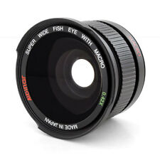 WIDE ANGLE LENS Fisheye FOR CANON EOS REBEL 1100D 1000D T3 T3i 60D 7D 350D XS i