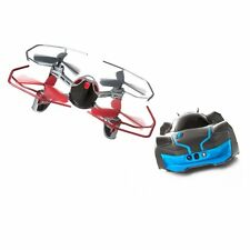 NEW WowWee ROBOTIC ENHANCED VEHICLE (R.E.V.) Car vs. Drone Ground-to-Air Combat