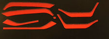 HONDA VF750S VF750SC RESTORATION DECAL SET BLACK/RED MODEL