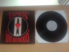 Love And Rockets - Express LP 1986/Ex-Bauhaus New Wave Punk
