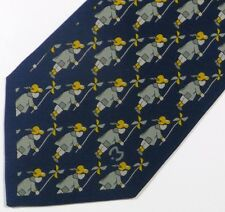 "NEW Sage Child Pinwheel MILA SCHON Silk Tie, Hand Made in ITALY. 3.5"" Wide 55"" L"