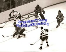 HOFer #30 Jacques PLANTE Is in BIG TROUBLE St. Louis BLUES Custom LAB 8 X10 NEW