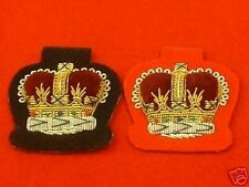 WO2 Mess Dress Badge Warrant Officer different colours