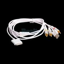 AV RCA Video USB Charge Cable Cord for iPhone 3G iPod Nano Touch
