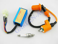 Scooter Performance Racing Ignition Coil + Spark Plug + CDI GY6 50 125cc 150cc