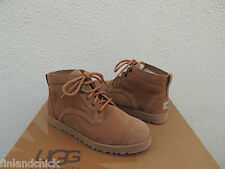 UGG BETHANY CLASSIC SLIM CHESTNUT SUEDE/ SHEEPSKIN BOOTS, US 8.5/ EUR 39.5 ~ NEW