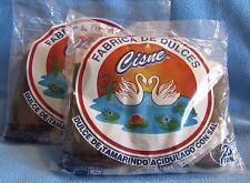4 Bags Cisne Pulpa Dulce de Tamarindo Mexican Tamarind Pulp Candy 80 Piece Total