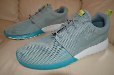 New Nike Mens Roshe Rosherun Run Running Shoes 511881-300 sz 10 MC Green / Grey