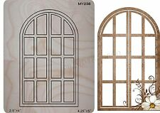 European-style windows Wooden Die Fits Big shot, Sizzix New default i8 MY238