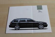143214) Jaguar X-Type Estate Prospekt 08/2003