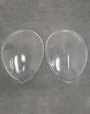 1937 1938 1939 Ford Standard Clear Glass Headlight Lens *PAIR