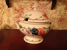 Villeroy & Boch 1748 'Amapola' Large Soup Vegetable Tureen Centerpiece - MINT