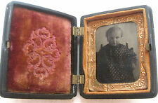 Civil War Era Holmes, Booth & Haydens' DAGUERREOTYPE - Post Mortem? Child