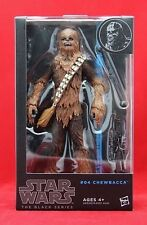 """Chewbacca #04 Star Wars The Black Series 6"""" Action Figure Wave 5 Free Shipping"""