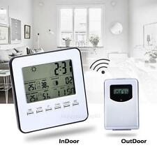 Digital Wireless Indoor/Outdoor Weather Station&Sensor Temperature Humidity