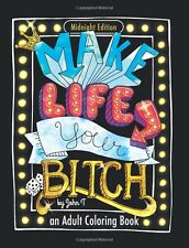 Swear Word Coloring Book Bitch Relieving Adult Cuss Delightful Relax Stress New