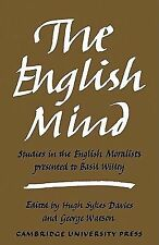 The English Mind: Studies in the English Moralists Presented to Basil-ExLibrary
