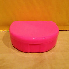 Dental Retainer Denture Case Box Holder Container Pink - USA Seller