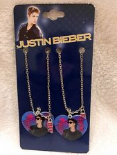 Justin Bieber Best Friends Heart Pendant Necklaces Set of 2 BFF Bravado Besties