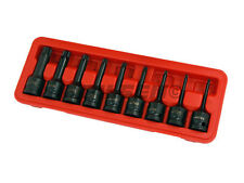 "NEILSEN TORX KEY STAR SOCKET SET IMPACT 1/2"" DRIVE EXTRA LONG"